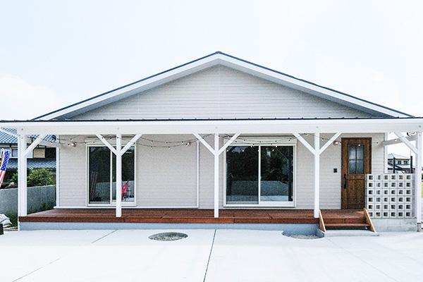 八女郡広川町 フラットハウス「平屋の家」